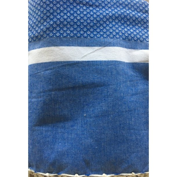 Fransk plaid blå